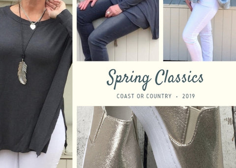 Spring Layers - Get The Look - Top Tips By Kerrie Griffin-Rogers