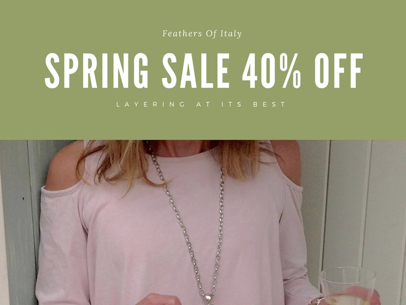 This Week Only 40% OFF Spring Sale