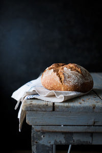 Rustic Bread Recipe. Make fresh bread this weekend and taste the difference
