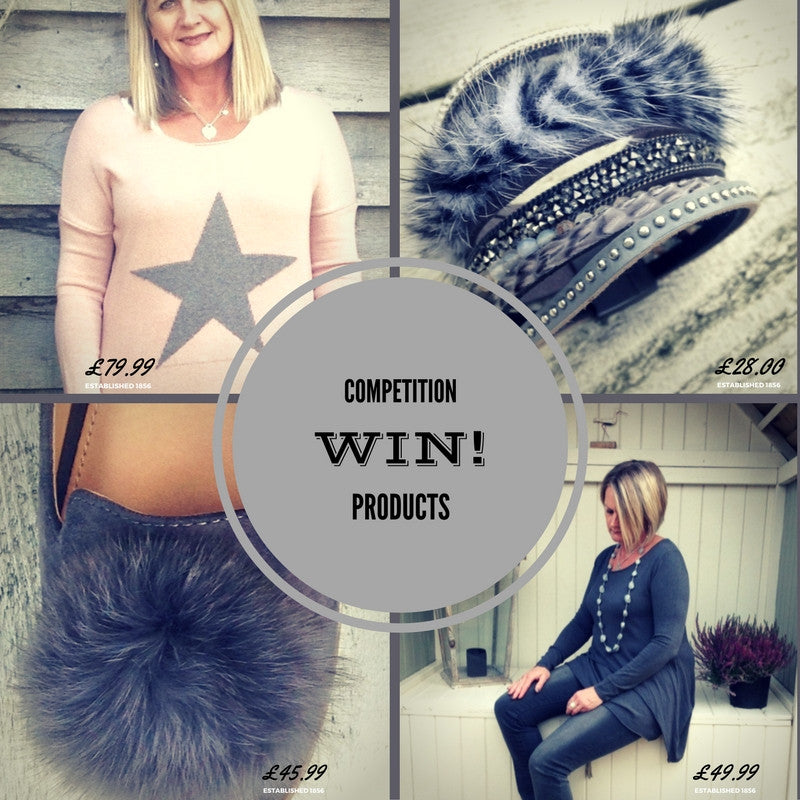 We're giving away a pair of fabulous new fur flats!