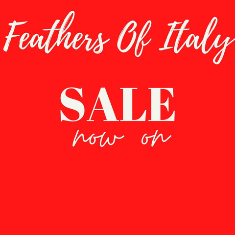 Feathers Of Italy Flash One Off sale now on