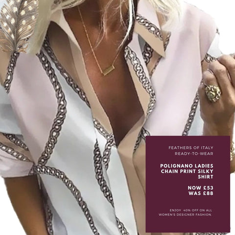 https://www.feathersofitaly.co.uk/products/ladies-chain-print-silky-shirt-long-sleeved-in-taupe-and-pink-1