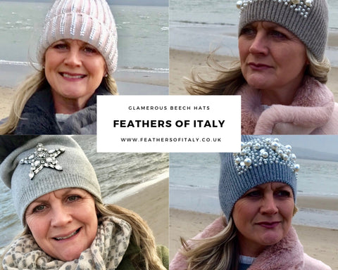 Hats by Feathers Of Italy