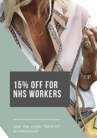 NHS and Royal Mail Workers 15% Discount off Feathers Of Italy Clothing