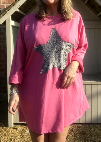 https://www.feathersofitaly.co.uk/collections/tops/products/copy-of-day-dreamer-star-t-shirt-in-cerise-pink-made-in-italy-by-feathers-of-italy-one-size