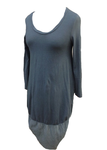 Cocoon Dress in Slate