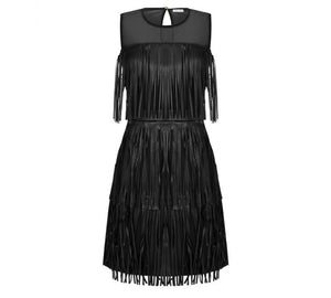 Rinascimento PU Dress - Feathers Of Italy