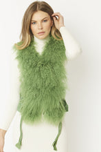 Load image into Gallery viewer, Mongolian and Coney Fur Gilet - Various Colours