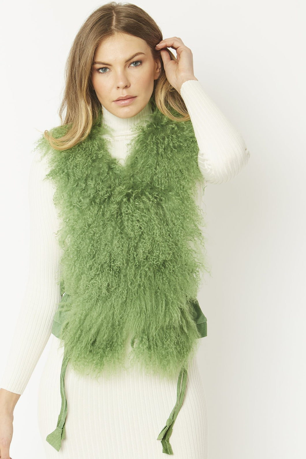 Mongolian and Coney Fur Gilet - Various Colours