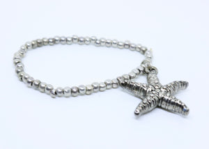 Children's Hand Made Starfish Bracelet - By Feathers Of Italy - Feathers Of Italy