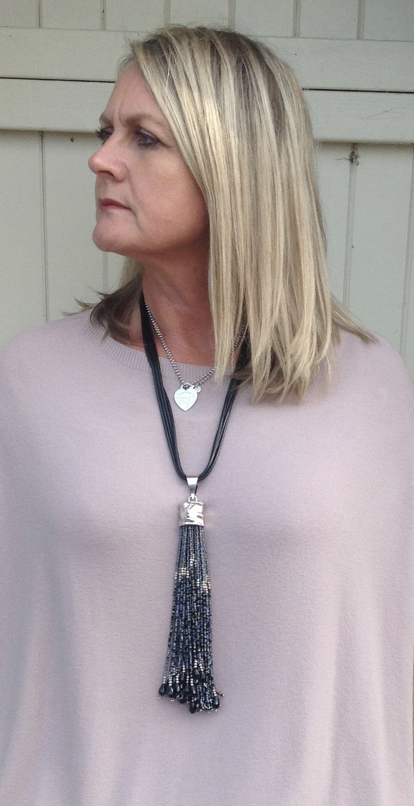 Talana Tassel Necklace - Feathers Of Italy