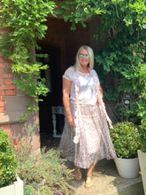 Load image into Gallery viewer, Leonardo Leopard Print Tulle Skirt One Size - Feathers Of Italy
