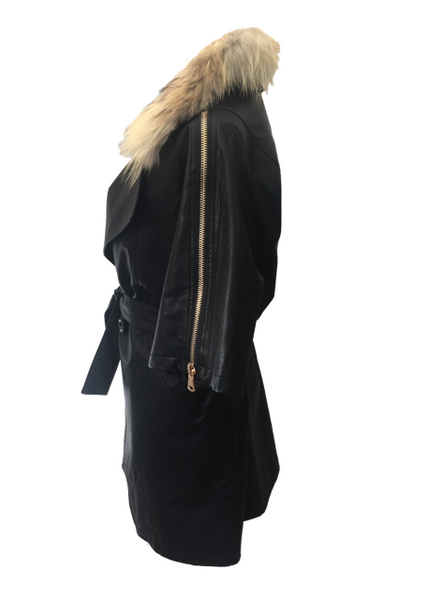 Positana Over Jacket in Black