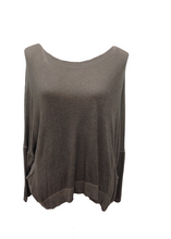 Load image into Gallery viewer, Florida Fine Knit Jumper in Mocha - Feathers Of Italy