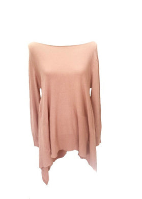 Mont Blanc Jumper in Pink - Feathers Of Italy