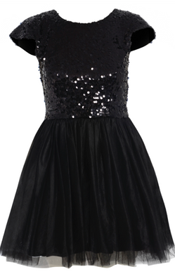 LBD carrie Ballerina Sequinned Dress