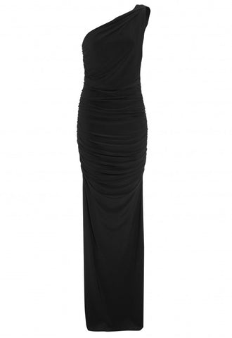 LBD Angelina Black Dress - Feathers Of Italy