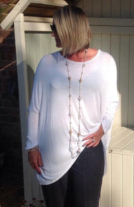 July Offer 2 Gauli Tops and Heart Pendant ends 30th July SOLD OUT OF PINK - Feathers Of Italy