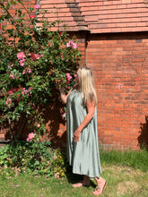 Load image into Gallery viewer, Milan Satin Summer Maxi Dress - Feathers Of Italy
