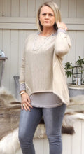 Load image into Gallery viewer, Lana Soft Knit in Vanilla - Feathers Of Italy