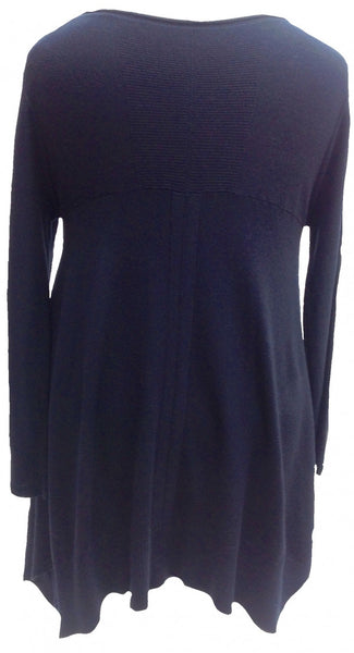 Mont Blanc Jumper in Navy - Feathers Of Italy