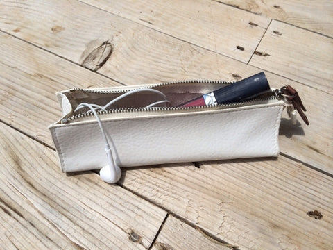 Romo Mini Make Up Bag in White