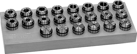 Premium ER40 Collet Set (Metric) | 17 pcs.