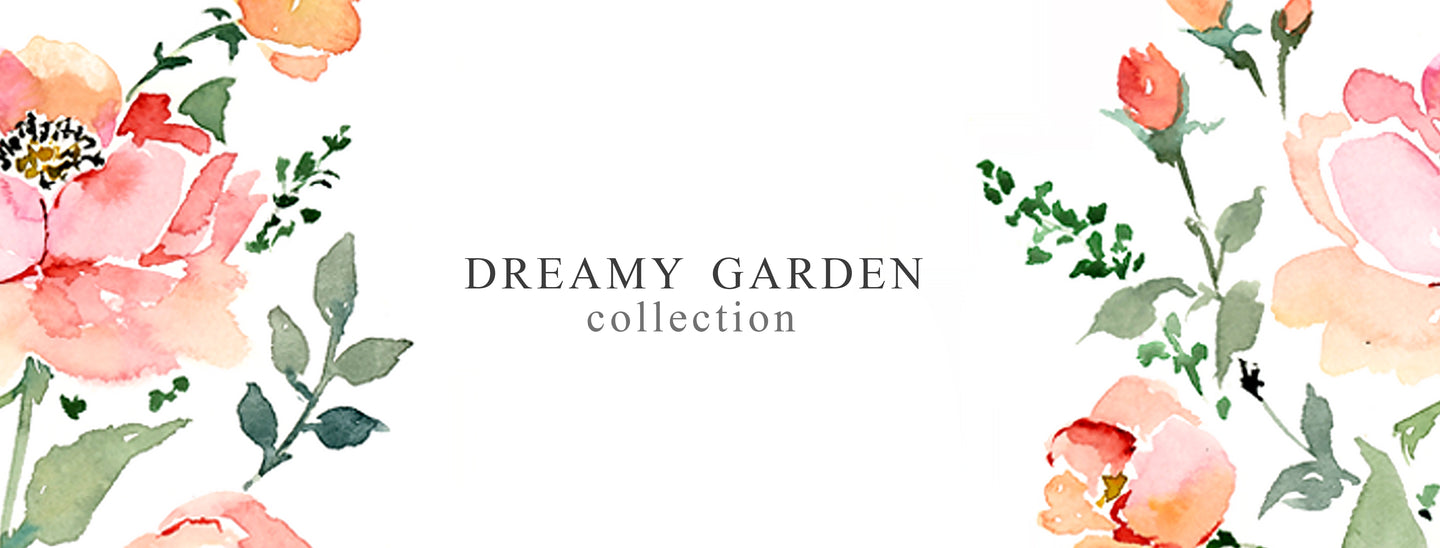 New Collection | Dreamy Garden Collection by Senay Design Studio
