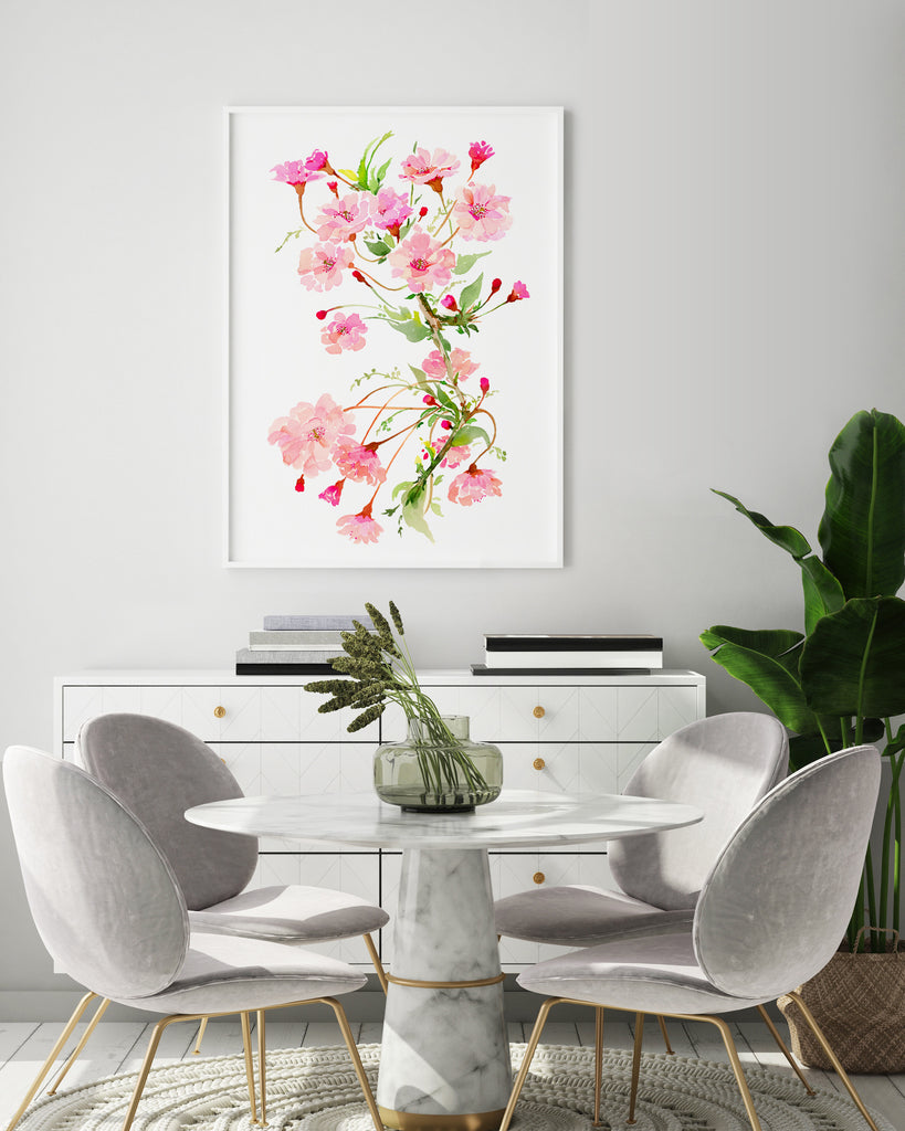 Pretty Blossom giclée watercolour paper