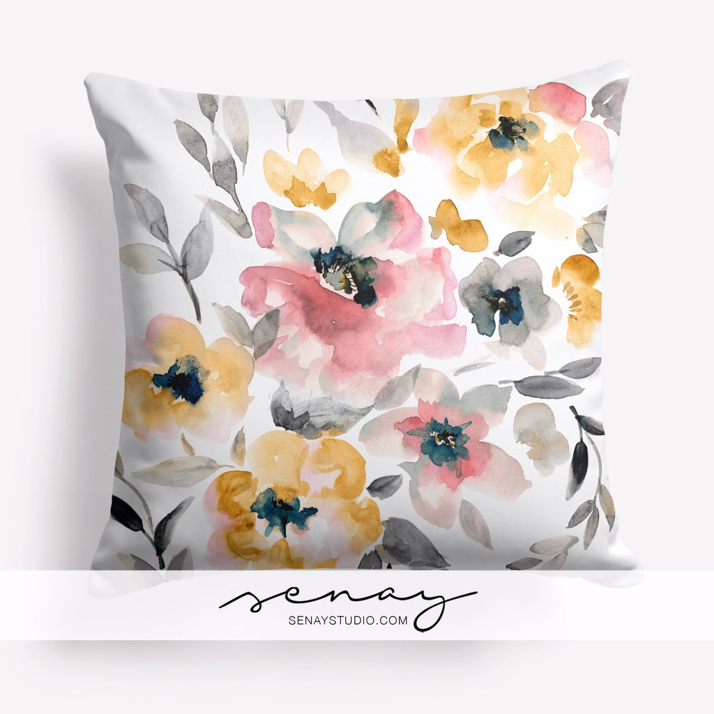 beautiful decorative pillow cover by Senay Design Studio