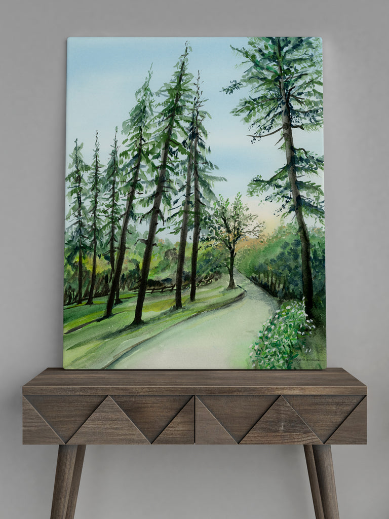 Park giclée canvas (READY TO HANG)