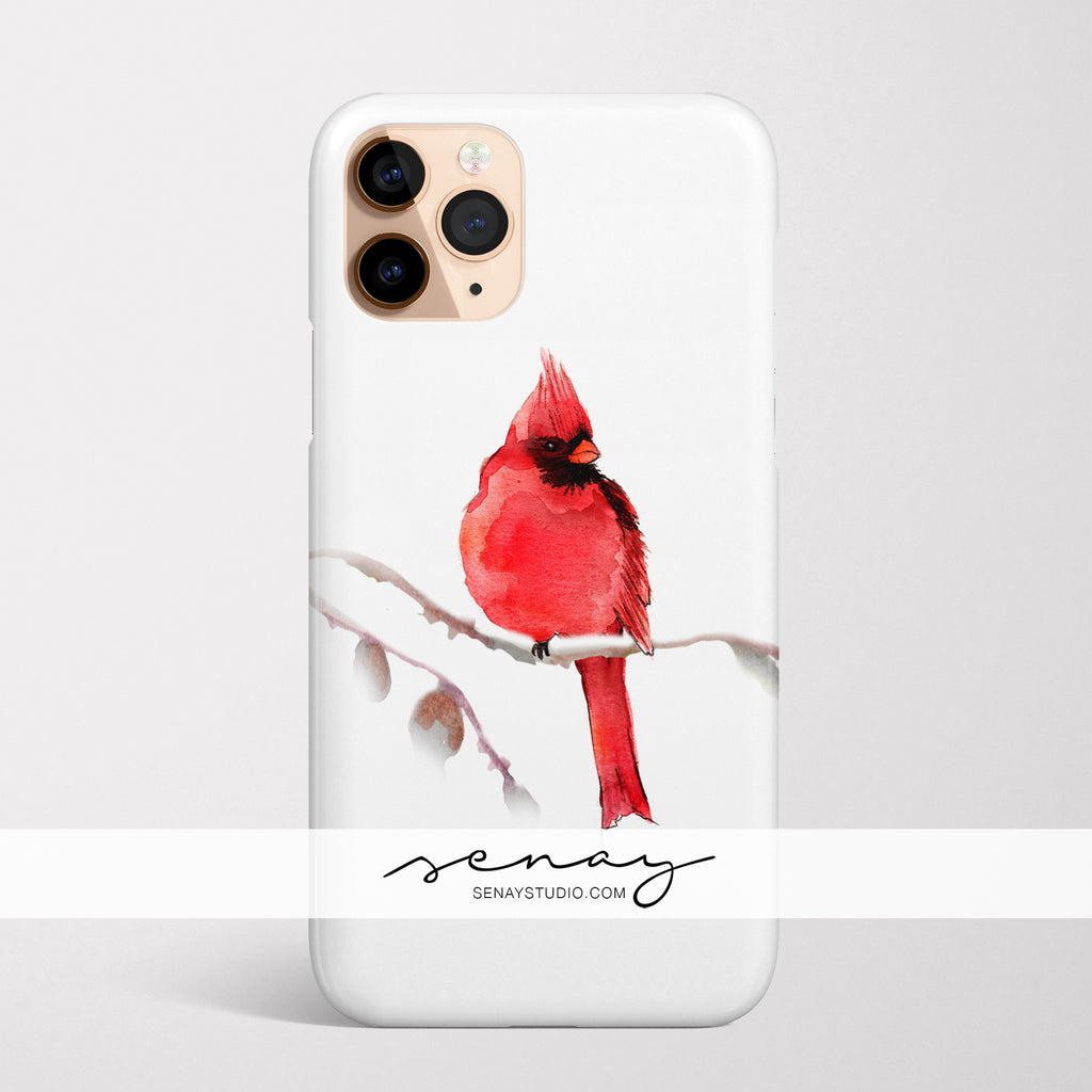 Red Cardinal phone case