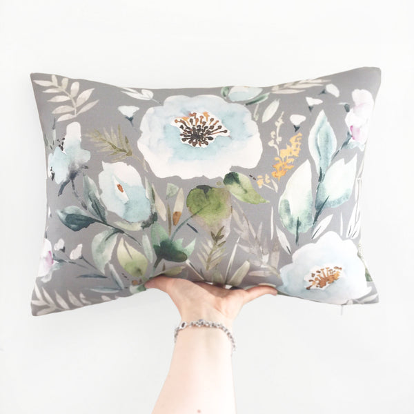 Oblong Throw Pillow Cover Ariana artwork - Senay Design Studio