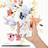 Watercolour smartphone case Dream Garden - Senay Design Studio