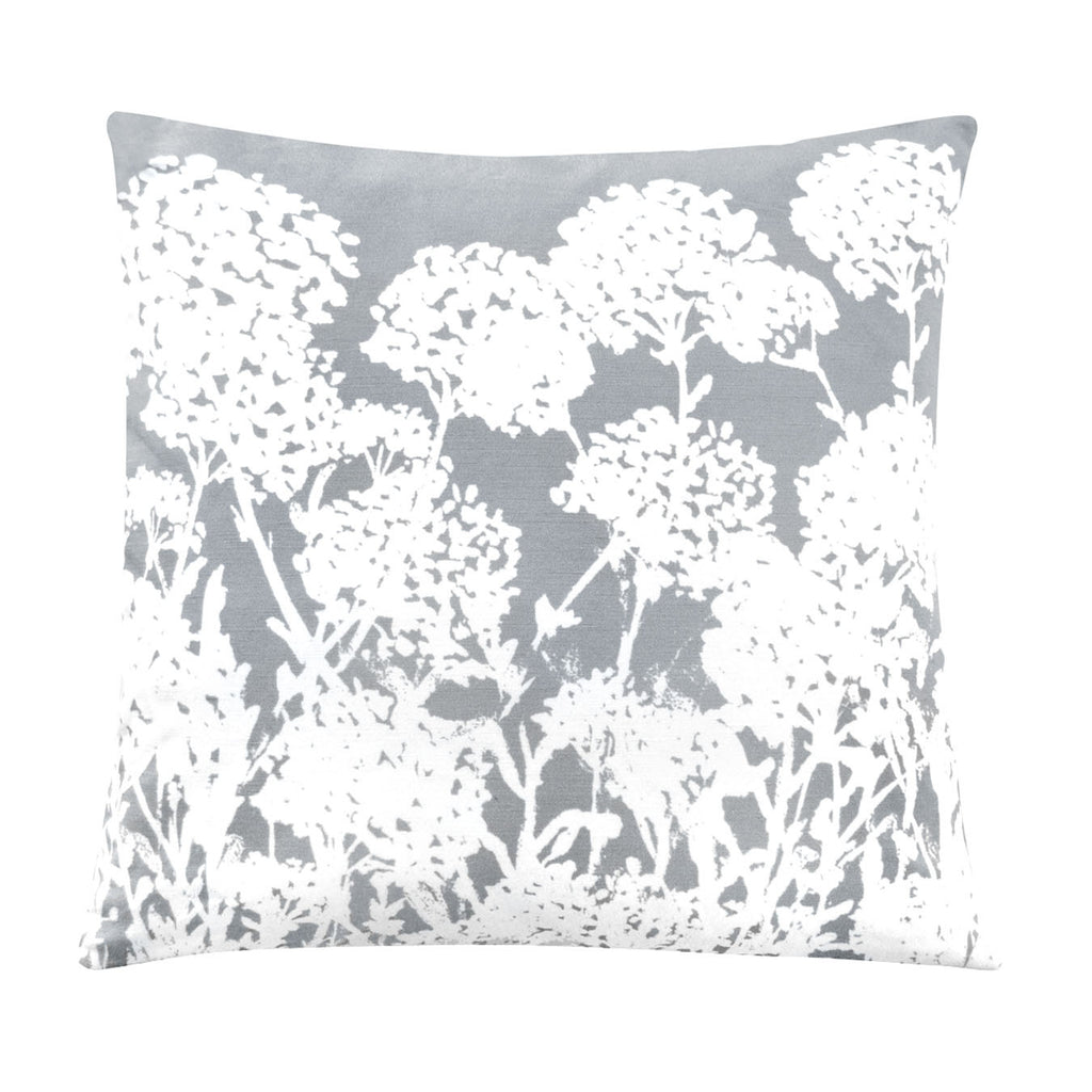 Grey Meadow Silhouette pillow cover