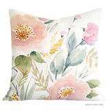 Keira Garden throw pillow cover - Senay Design Studio