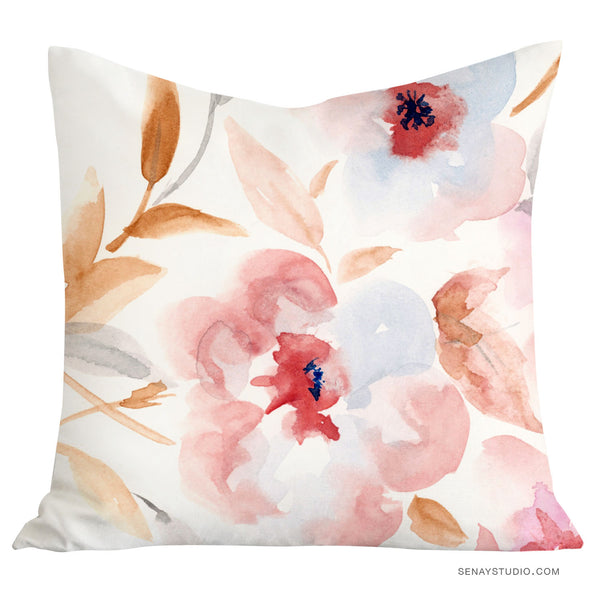 Dreamy Floral pillow cover