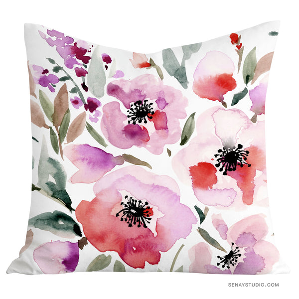 Red Roses pillow cover