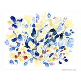 Blue Energy giclée canvas (READY TO HANG) - Senay Design Studio