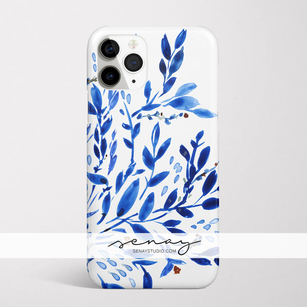 Blue Garden 2 phone case