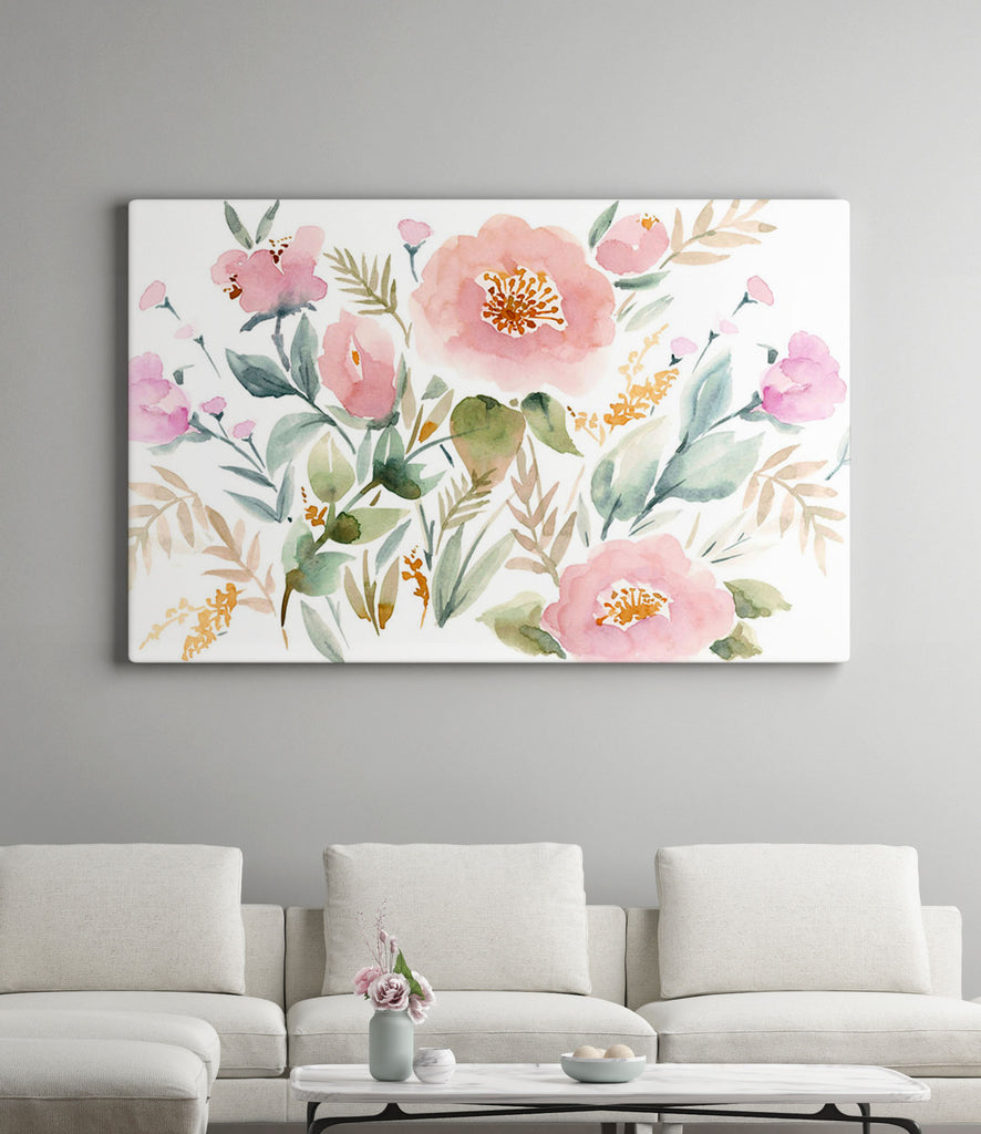 Keira Garden giclée canvas (READY TO HANG)