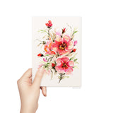 Beautiful Rosabella blank card by Senay Design Studio, floral greeting card  perfect for Mother's Day