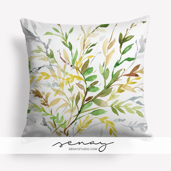 Wild Leaves pillow cover