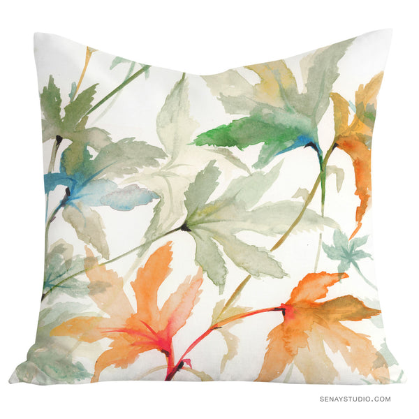 Autumn Leaves toss pillow cover