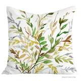 Wild Leaves toss pillow cover