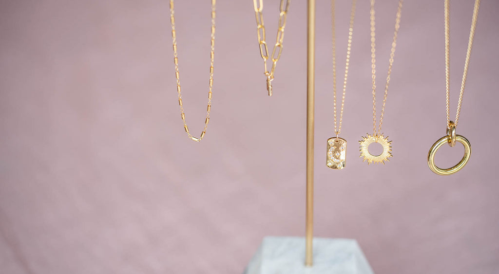 Gold Filled Layering Necklaces and Chains