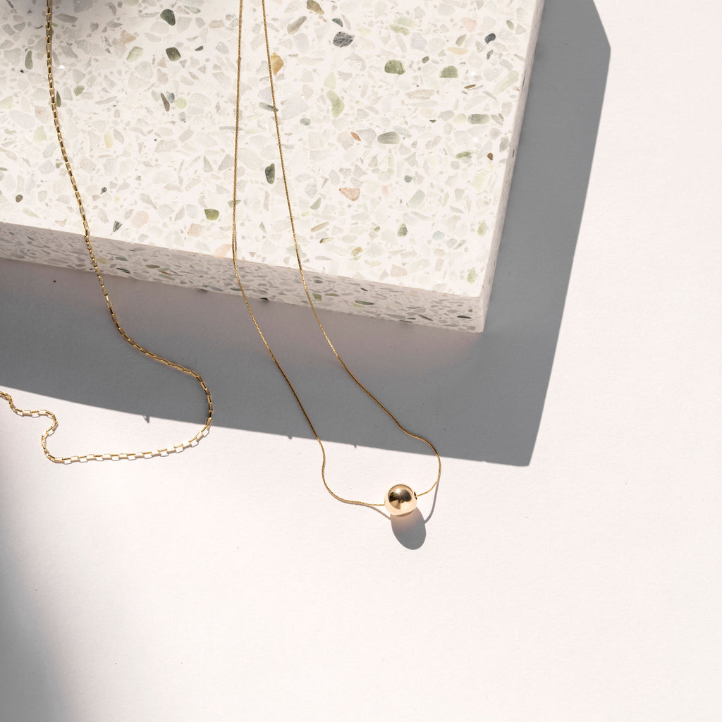 Minimal Gold Filled Necklaces and Chains