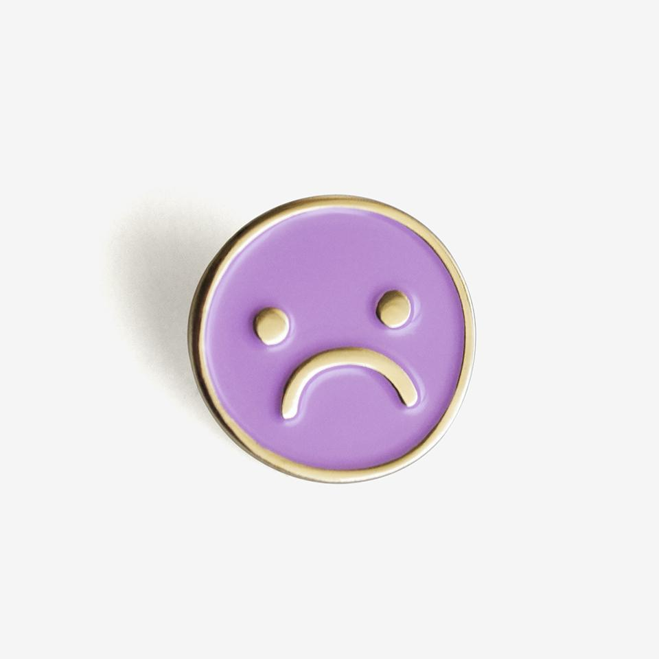 Sad Day Pin