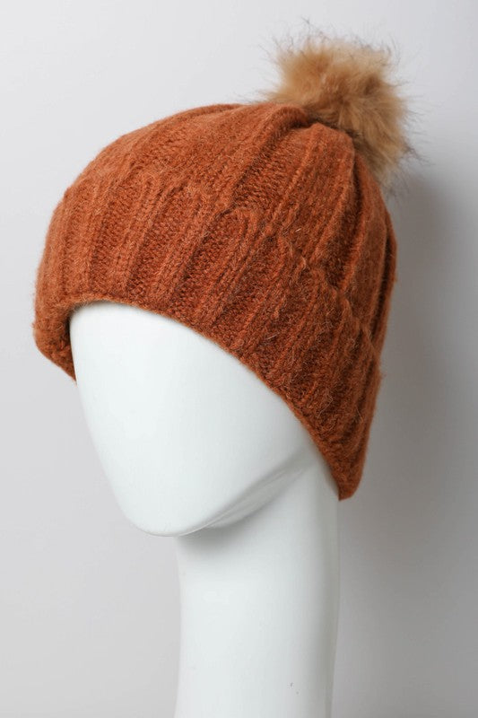 Pom Pom Hat in Rust