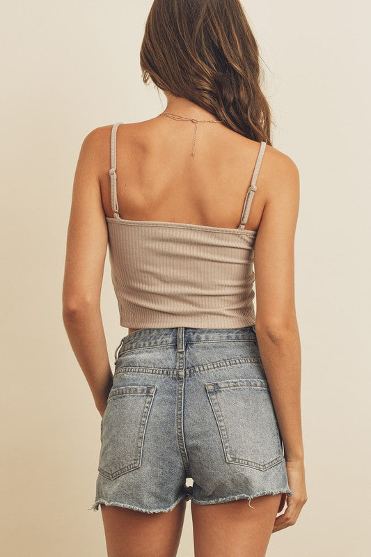 Cami Top in Nude